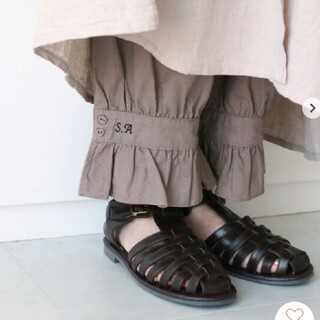 SM2 - 新品 タグ付き サマンサモスモス 35th SA刺繍パンツ