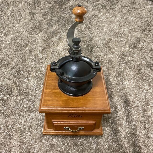 CARITA(カリタ)のKalita コーヒーミル(値下げ可能) インテリア/住まい/日用品のキッチン/食器(テーブル用品)の商品写真