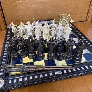 【美品】ハリーポッターチェスコレクション 小物・本付き(オセロ/チェス)