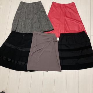 クイーンズコート(QUEENS COURT)のクィーンズコート Queens court スカート5点セット(ひざ丈スカート)
