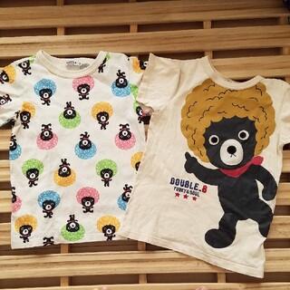 ダブルビー(DOUBLE.B)のダブルビー Tシャツ ミキハウス(Tシャツ/カットソー)