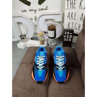 """アディダス(adidas)の新ADIDAS YEEZY BOOST 700 """"BRIGHT BLUE""""(スニーカー)"""