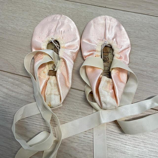 CHACOTT(チャコット)のチャコット バレーシューズ 17cm キッズ/ベビー/マタニティのキッズ靴/シューズ(15cm~)(その他)の商品写真