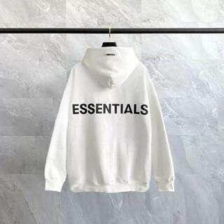 Essential - 新品未使用品★Mサイズ】FOG★エッセンシャルズ★パーカー★ブラック