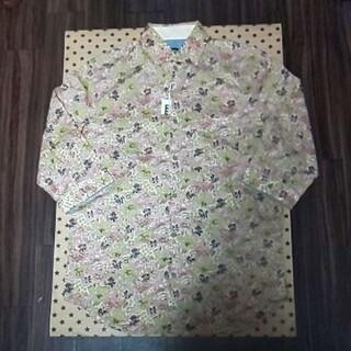 ピーピーエフエム(PPFM)の新品PPFM 総柄7分袖シャツ(Tシャツ/カットソー(七分/長袖))