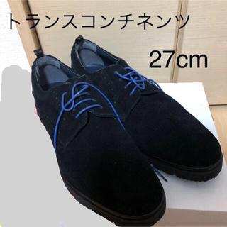トランスコンチネンツ(TRANS CONTINENTS)のトランスコンチネンツ 27cm シューズ  メンズ  ブラック(ドレス/ビジネス)