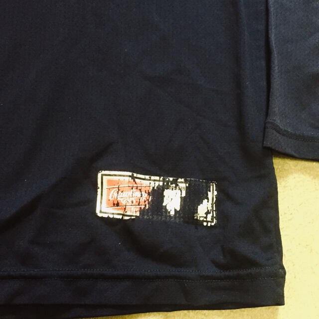 Rawlings(ローリングス)のRawlings ローリングス アンダーシャツ長袖 ハイネック  紺色 Mサイズ スポーツ/アウトドアの野球(ウェア)の商品写真