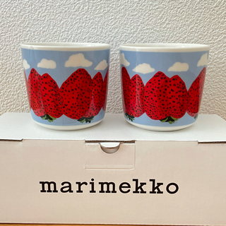 marimekko - 新品。マリメッコ  ラテマグ  2つ