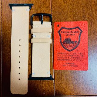 栃木レザー - Apple watch5 42-44cm用バンド 栃木レザー 受注生産 未使用品