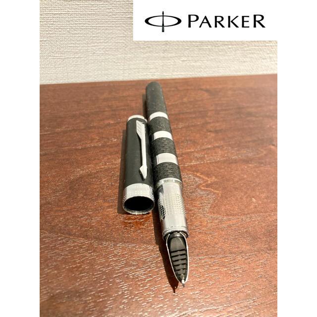 Parker(パーカー)の(定価2.5万)パーカー 5th インジェニュイティ ブラックラバー&メタルCT インテリア/住まい/日用品の文房具(ペン/マーカー)の商品写真