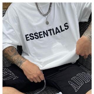 FEAR OF GOD - Essentials エッセンシャルズ 新作 Tシャツ / ホワイト  サイズ