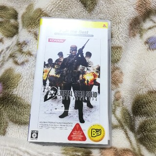 プレイステーションポータブル(PlayStation Portable)のメタルギアソリッド PSP ゲーム カセット ソフト スネイク(携帯用ゲームソフト)