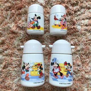 ディズニー(Disney)の新品未使用/Disney/醤油刺し/塩胡椒/爪楊枝/ソース/カトラリー(テーブル用品)