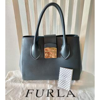 Furla - 【美品】FURLA  メトロポリス ハンドバック