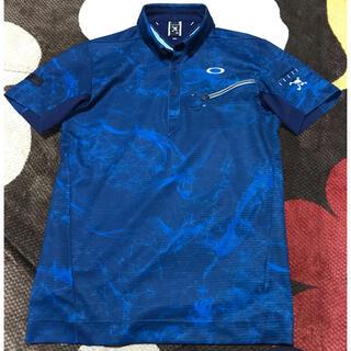 オークリー(Oakley)のオークリーoakleyスカルポロシャツスポーツおすすめゴルフMサイズメンズ(ウエア)