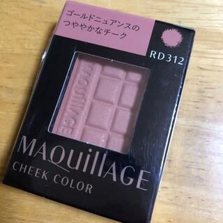 マキアージュ(MAQuillAGE)のMaquillage チークカラー RD312 新品未開封(チーク)