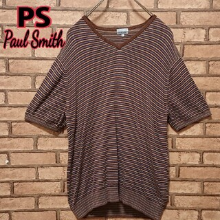 ポールスミス(Paul Smith)のPS Paul Smith ポールスミス ボーダー 半袖 カットソー(Tシャツ/カットソー(半袖/袖なし))