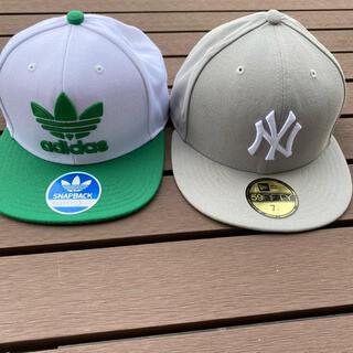 NEW ERA - キャップ2個セット ニューエラNYヤンキース、アディダス