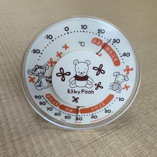 ディズニー(Disney)のプーさん 温湿度計(日用品/生活雑貨)