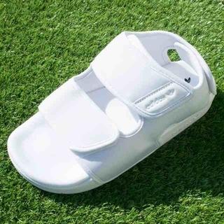 アディダス(adidas)のadidas アディダス 新品 スポーツサンダル ホワイト スリッパ 23.5(サンダル)