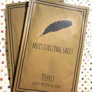 dearly MOISTURIZNG SHEET 2個(パック/フェイスマスク)