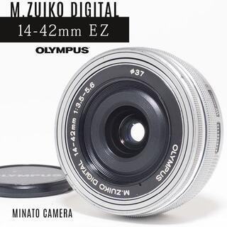 OLYMPUS - 電動ズーム★オリンパスM.ZUIKO DIGITAL 14-42mm EZ