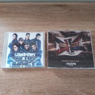 サンダイメジェイソウルブラザーズ(三代目 J Soul Brothers)の三代目RAISE THE FLAG(Blu-ray付)、BLUE IMPACT(ミュージック)