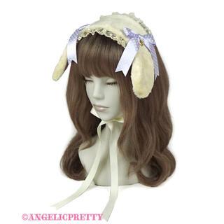 アンジェリックプリティー(Angelic Pretty)のAngelic Pretty ロップイヤーBunnyヘッドドレス (カチューシャ)