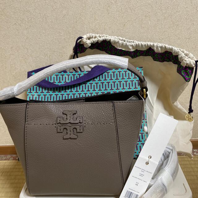 Tory Burch(トリーバーチ)のトリーバーチ マックグロースモールバケットバッグ レディースのバッグ(トートバッグ)の商品写真