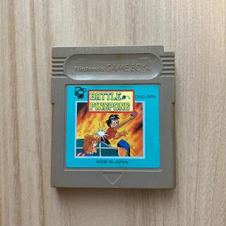 ゲームボーイ(ゲームボーイ)のGB ゲームボーイソフト バトルピンポン(家庭用ゲームソフト)