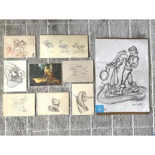 ディズニー(Disney)のディズニー ポストカード 原画(写真/ポストカード)