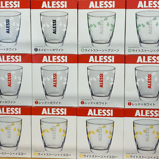 アレッシィ(ALESSI)のALESSI メモリ付きグラス(グラス/カップ)
