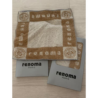 レノマ(RENOMA)のrenoma レノマ タオルハンカチ 2枚セット(ハンカチ/ポケットチーフ)