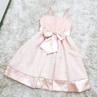 MISCH MASCH - ドレス ワンピース リボン 結婚式 二次会 お呼ばれドレス