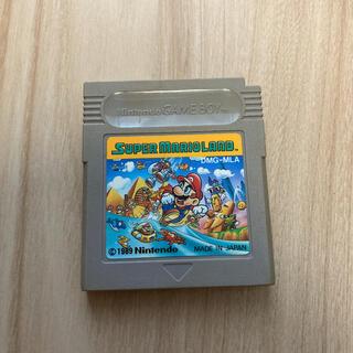 ゲームボーイ(ゲームボーイ)のGB ゲームボーイ ソフト スーパーマリオランド(家庭用ゲームソフト)