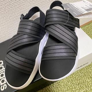 アディダス(adidas)のアディダス adidas スポーツサンダル 23.5センチ 新品未使用 (サンダル)