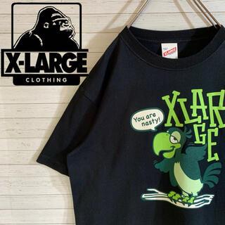 XLARGE - 【X-LARGE】エクストララージ 希少デザイン デカロゴ Tシャツ