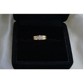 ジュエリーマキ(ジュエリーマキ)のK18 ダイヤモンドピンキーリング ジュエリーマキ ひし形 5号(リング(指輪))