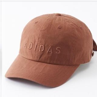 アディダス(adidas)の新品 しまむら プチプラのあや アディダス キャップ  ピンク 帽子 完売 (キャップ)
