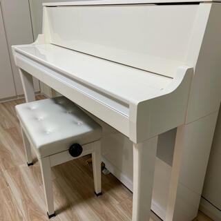 Roland - 【美品】Roland 電子ピアノ ホワイト鏡面仕上げ