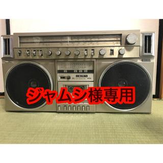 CROWN クラウン ラジカセ【ジャンク】(ラジオ)
