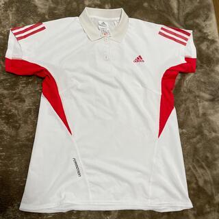 アディダス(adidas)のadidas  FORMOTION レディース ポロシャツ ホワイト(ポロシャツ)