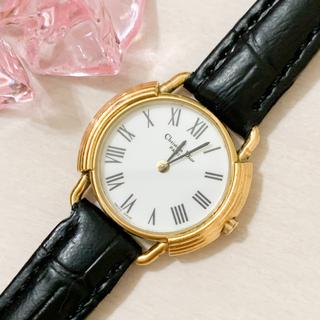 クリスチャンディオール(Christian Dior)の【稼働品】クリスチャン・ディオール◆レディースウォッチ(腕時計)