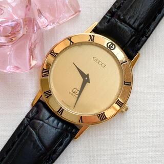 グッチ(Gucci)の【稼働品】GUCCI◆メンズ腕時計(腕時計(アナログ))