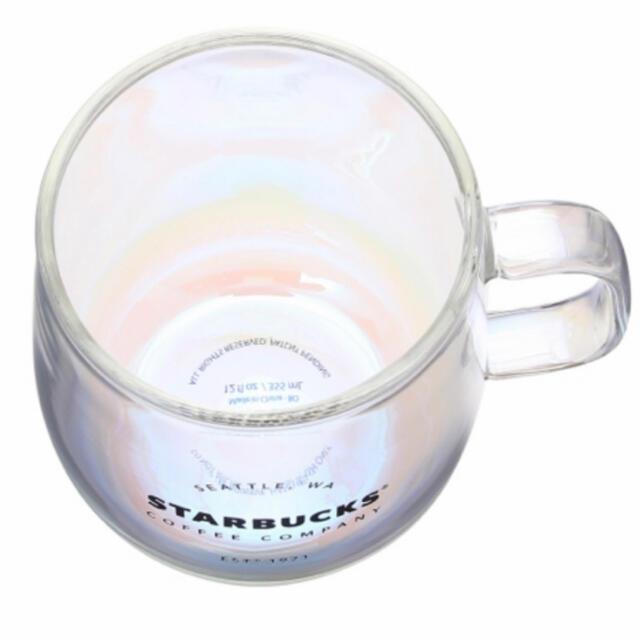 Starbucks Coffee(スターバックスコーヒー)の耐熱グラスマグラスター  2個セット スタバ インテリア/住まい/日用品のキッチン/食器(食器)の商品写真