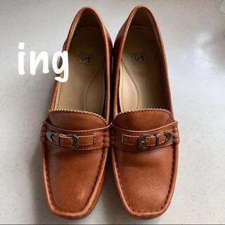 イング(ing)のing イング レザーローファー  23cm 2E(ローファー/革靴)