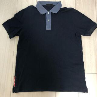 PRADA - プラダ PRADA  ポロシャツ 黒色