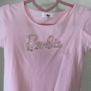 バービー(Barbie)のバービー 半袖 トップス ピンク(Tシャツ(半袖/袖なし))