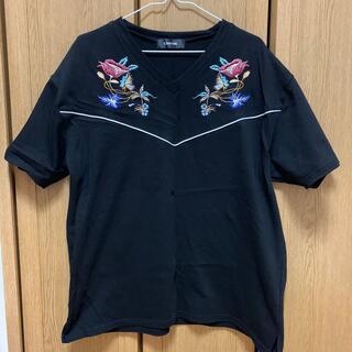 アンビー(ENVYM)のENVYM 刺繍トップス(Tシャツ(半袖/袖なし))