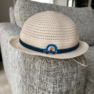 familiar - 【美品】familiar 麦わら帽子
